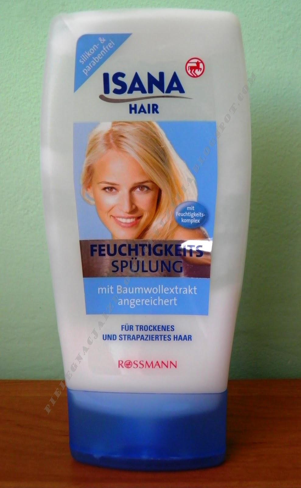 Odżywka godna uwagi - Isana do włosów suchych i zniszczonych