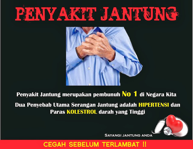 Penyakit jantung serangan sakit Malaysia