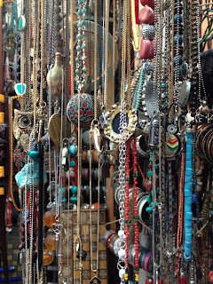 Jewelry in Jaffa Flea Market