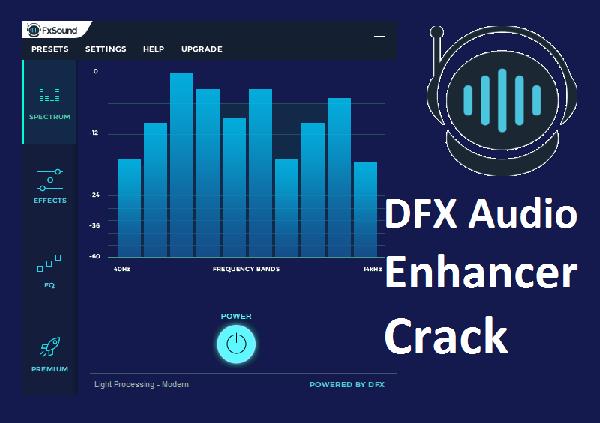 DFX Audio Enhancer 14 Crack 2022 Keygen