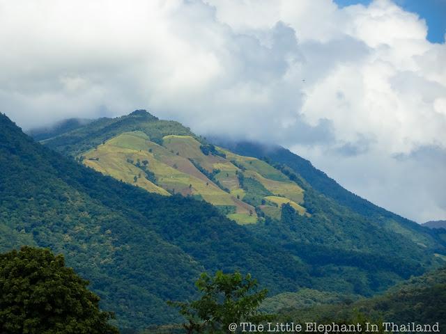 Monk Mountains in Northern Thailand