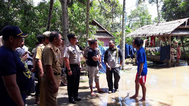 Banjir Belum Surut, Murid SDN Salutete Tidak Belajar