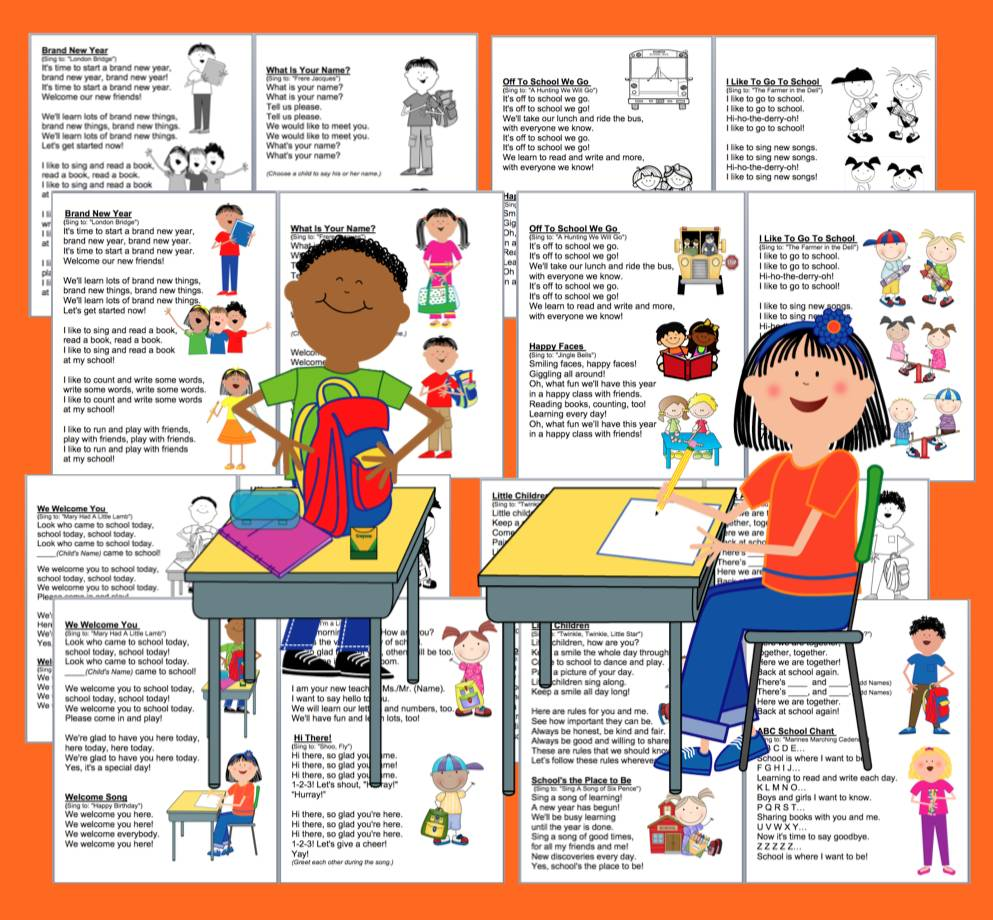 Learning Activities For Kids: Back to School