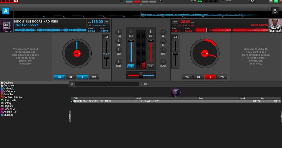 Virtual dj pro free download with crack full version.