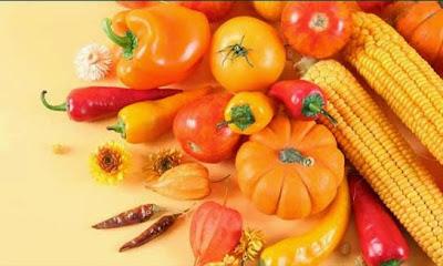 فوائد الخضار البرتقالي والاصفر للجسم