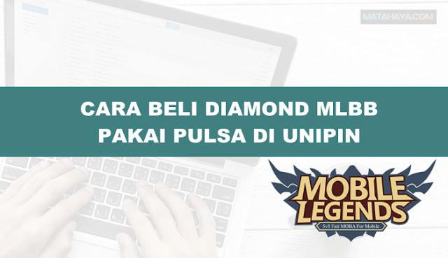 Cara Beli Diamond ML Pake Pulsa, Murah mulai 5 Ribu di Unipin