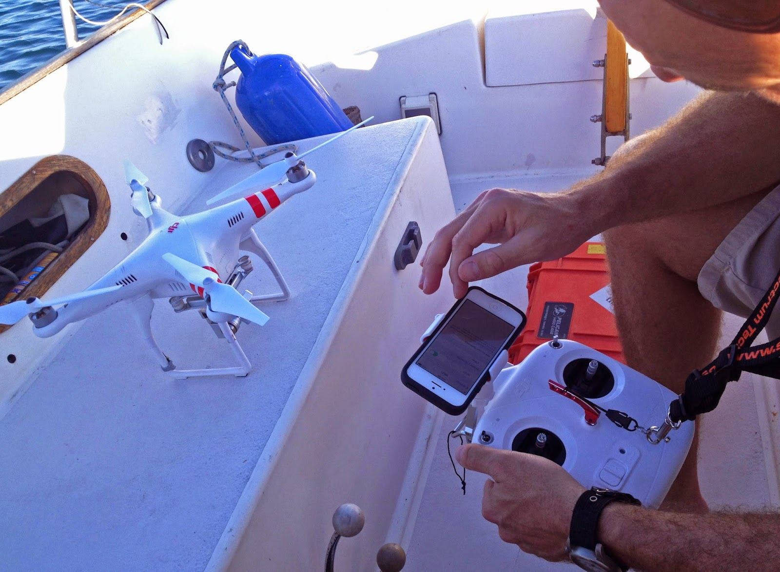 best drone for boating