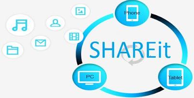 transfer file lebih cepat dengan shareit
