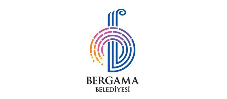 İzmir Bergama Belediyesi Vektörel Logosu
