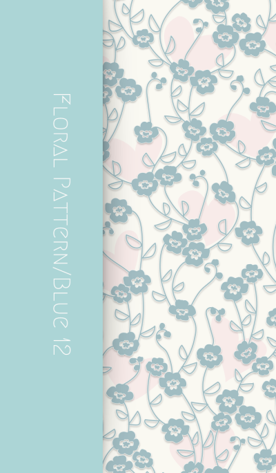 Floral Pattern[pansy]/Blue12