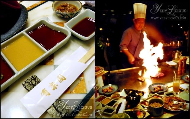 Diamond Hotel Japanese Restaurant Menu
