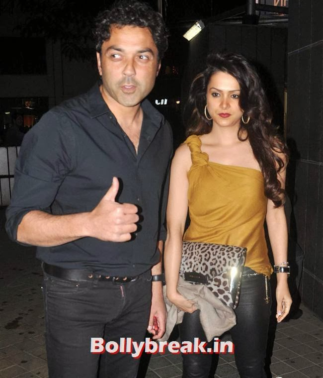 Bobby and Tanya Deol, Bollywood Celebs at Jai Ho Special Screening