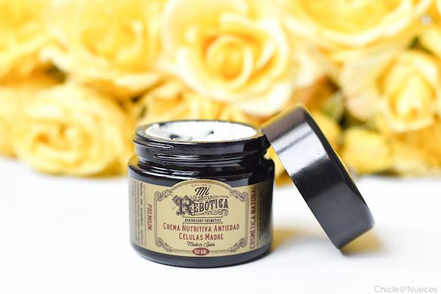 Crema Nutritiva y elixir concentrado Mi Rebotica Premium