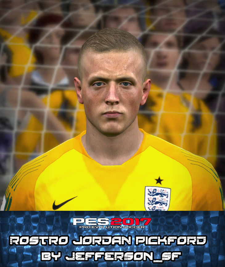 PES 2017 J. Pickford Face by FaceEditor Jefferson_SF