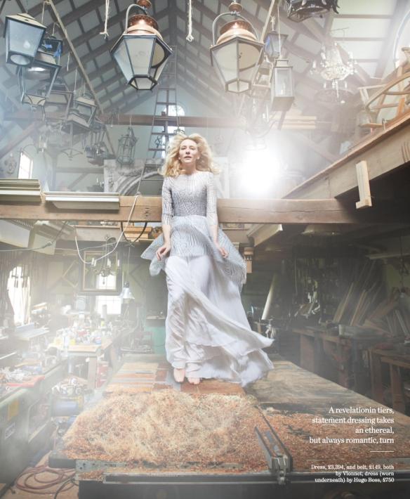 Smartologie: Cate Blanchett For Porter Magazine Winter 2014