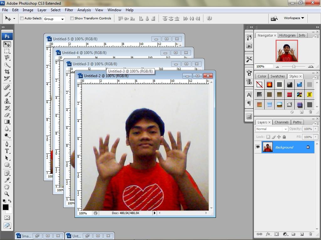 Animasi Gif Dengan Photoshop Bergerak Untuk Hidup