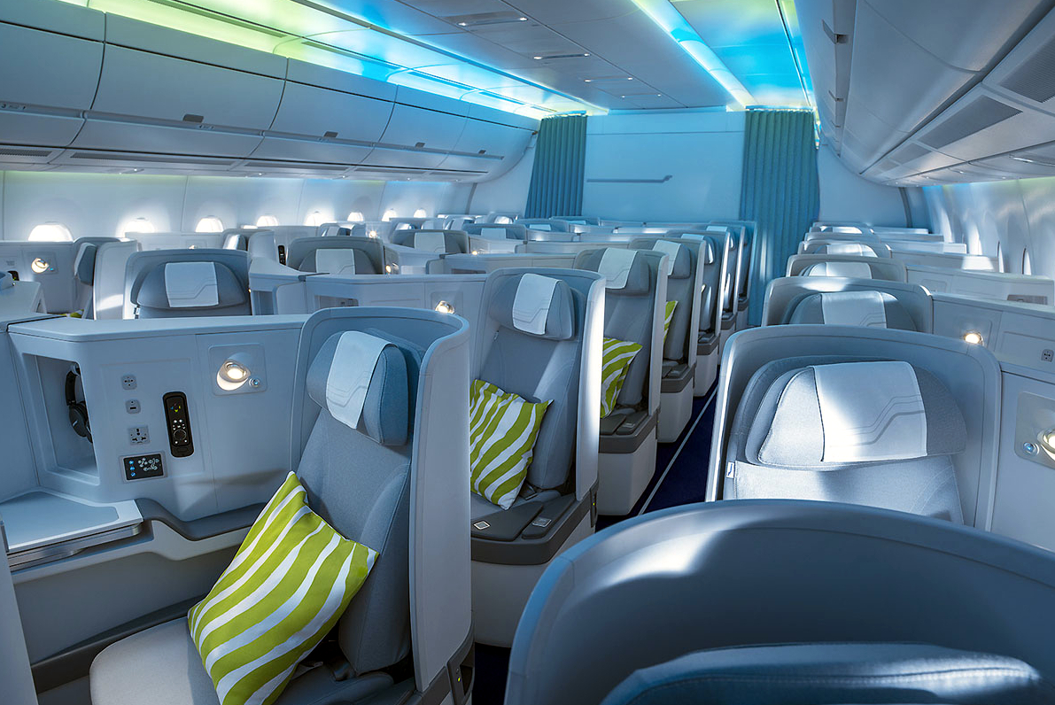 Finnair A350-900 Business Class Seating Layout and Ambience