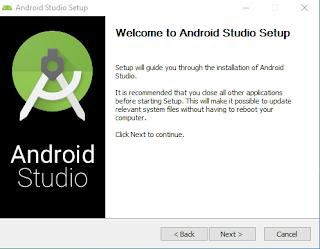 Cara installasi Android studio di windows terbaru