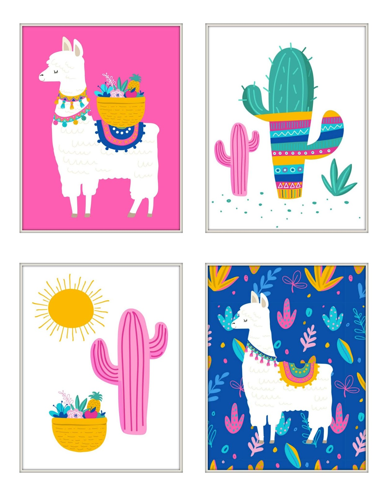 photo relating to Llama Printable identified as Musings of an Typical Mother: llama printables
