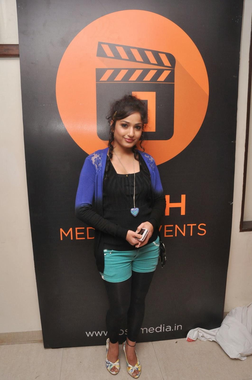 stylish Madhavi latha photos at josh media launch event
