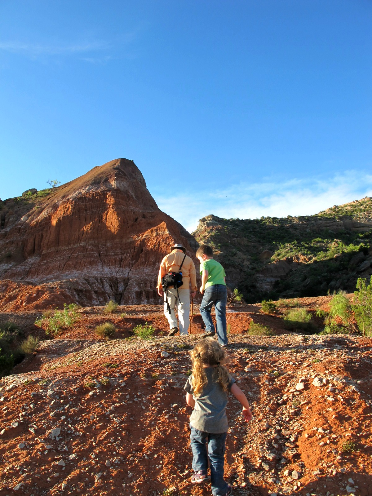 OutdoorsMom: Tails from the Trail: Palo Duro Canyon State ...