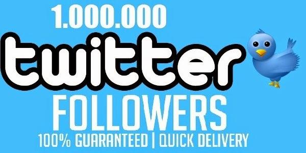 1000000 Twitter Followers