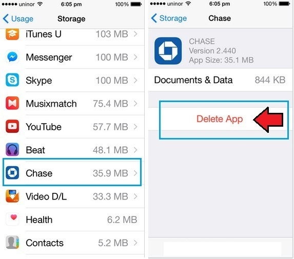 How to delete apps from iphone and ipad permanently ios 10 9 8 delete apps from iphone and ipad permanently ccuart Images