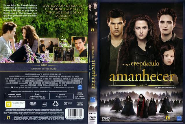 Capa DVD Amanhecer Parte 2