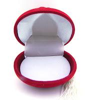 kadife açılır kapak gül desenli kadife kutu nikah şekeri