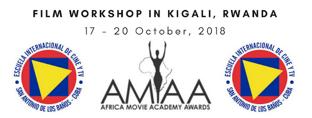 AMAA Announces Workshop In Partnership With The Film School of Cuba In Kigali