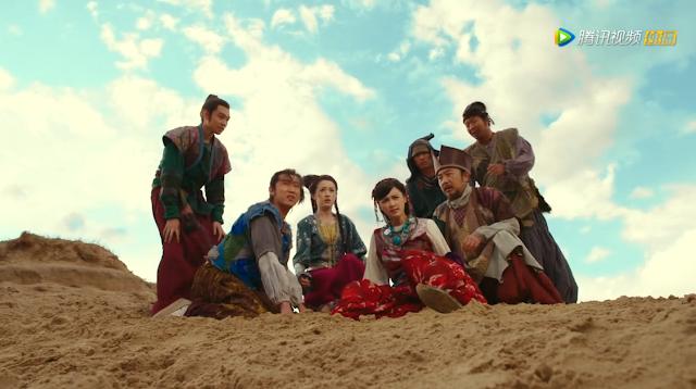 Yuang Hong and Zhang Xinyi in historical cdrama Princess Jieyou
