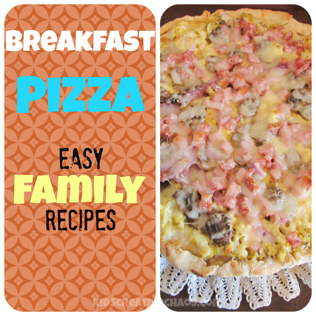 Easy Breakfast Pizza Recipe Sauce