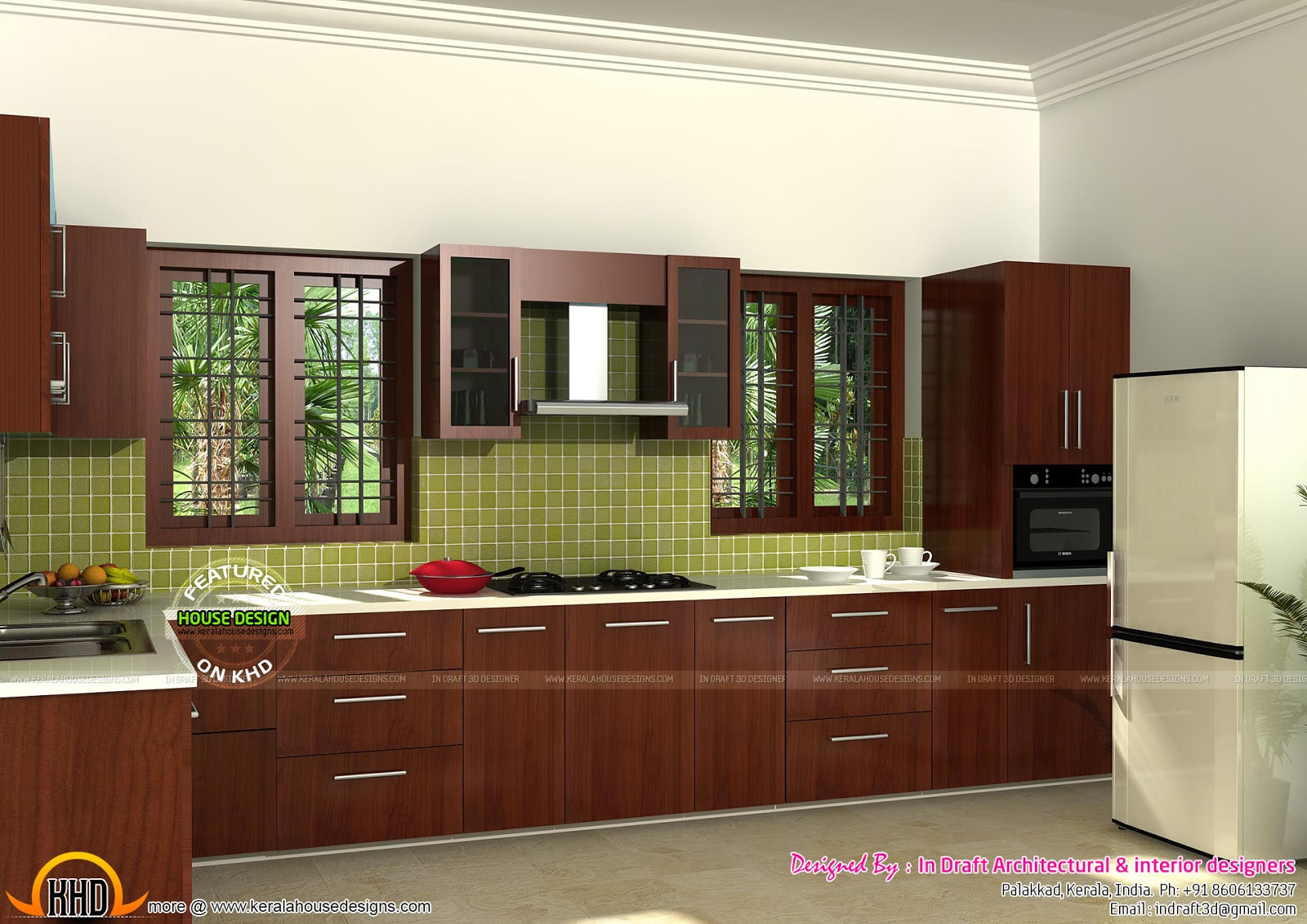 Home Interiors By In Draft Kerala Home Design And Floor