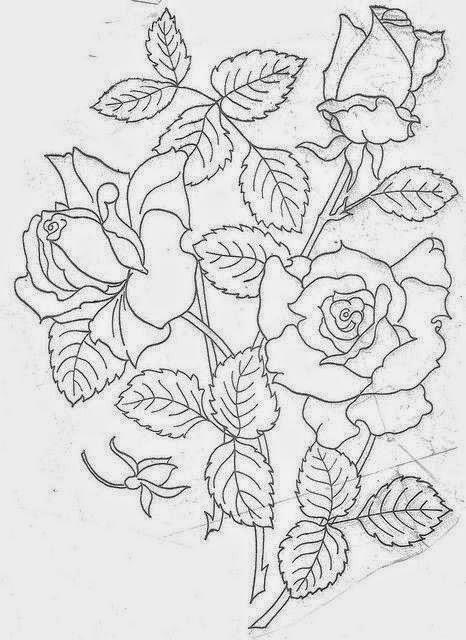 Dibujos De Rosas Para Bordar Www Imagenesmy Com