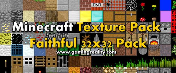 Minecraft Faithful 32x32 Texture Pack