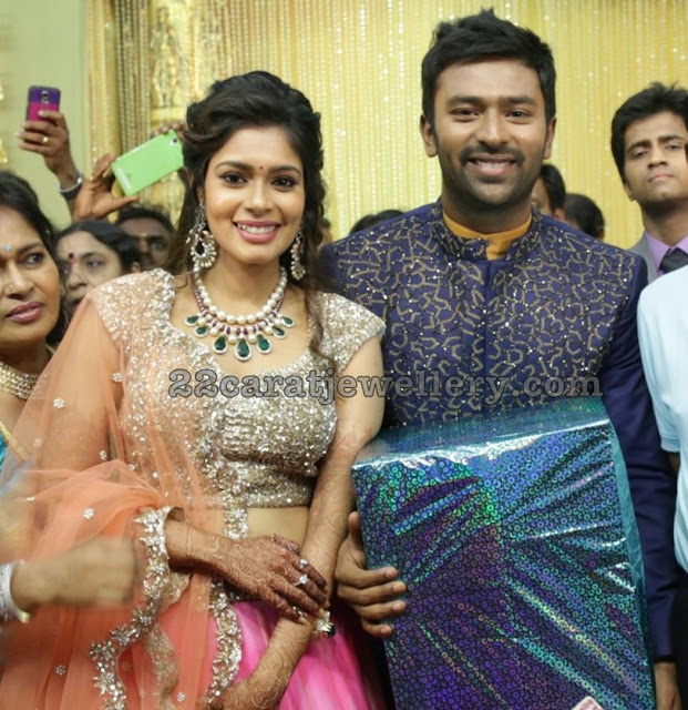 Shantanu Keerthy Wedding Reception