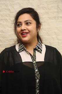 Tamil Actress Meena Latest Stills in Black Dress at TSR TV9 Awards Press Meet  0003.JPG