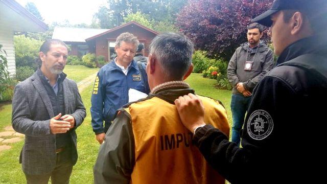 Reconstitución de robo con secuestro que terminó en Osorno