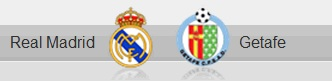 Real Madrid and Getafe shields