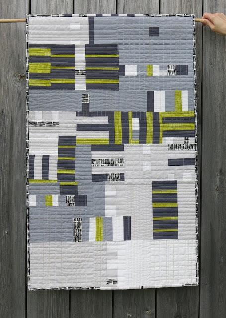 Sherri Lynn Wood - The Improv Handbook - Score #2 - Quilt finished
