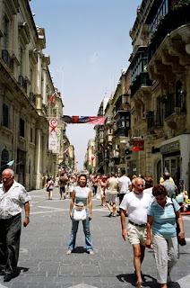 Republic Street calle principal de La Valetta