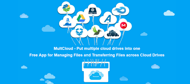 MultCloud cloud syncing application