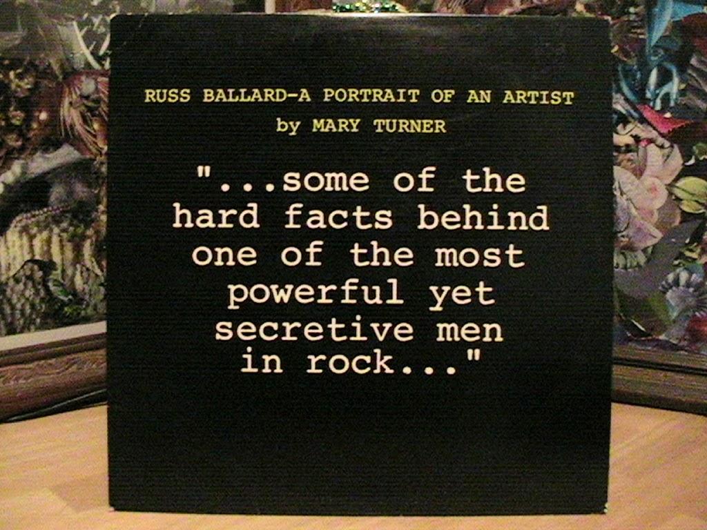 russ ballard discography rar