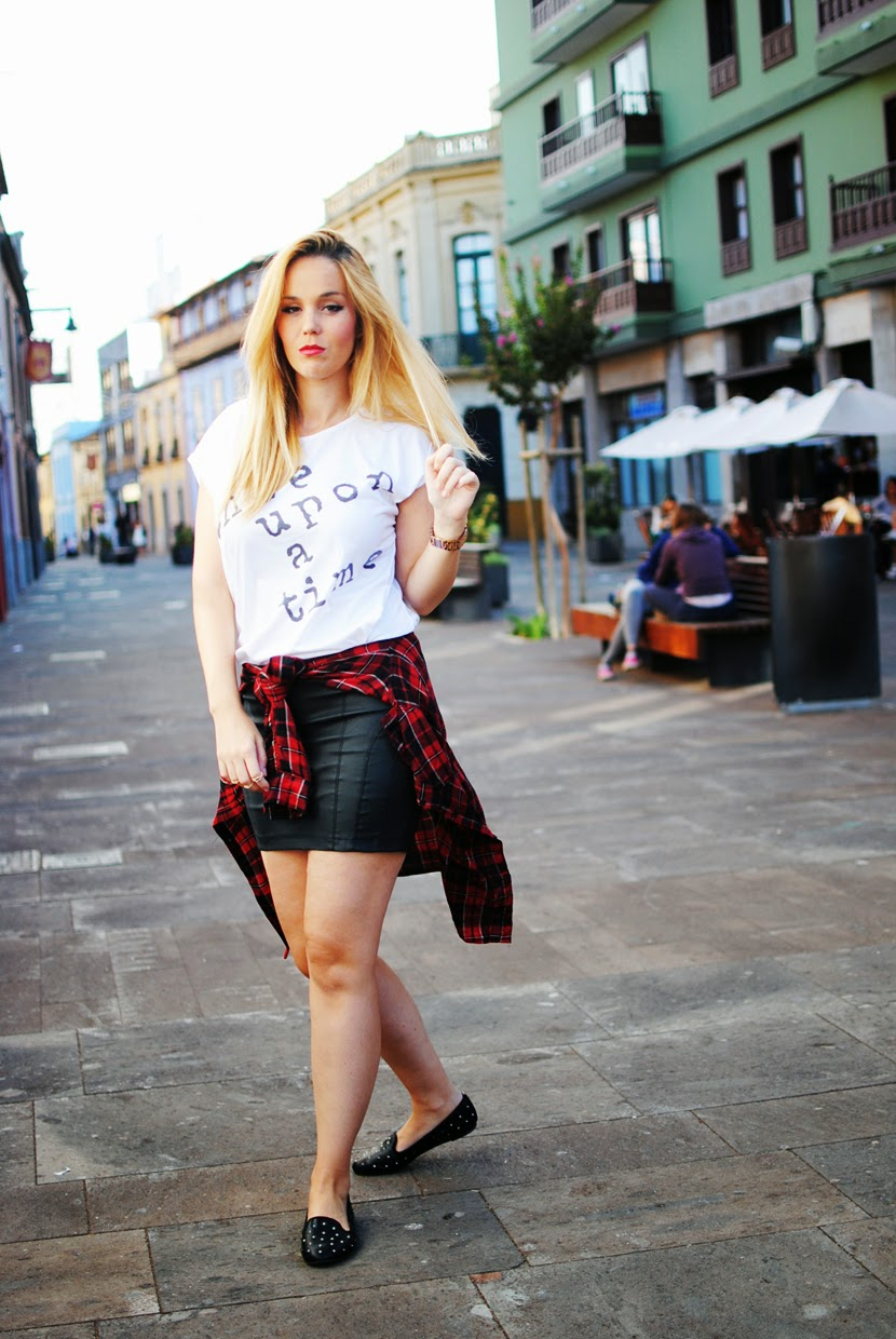 nery hdez, traffic people, tartan, fashion blogger tenerife