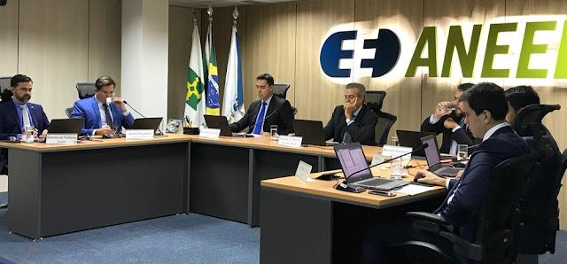 Reunião da Agência Nacional de Energia Elétrica (Aneel), nesta terça-feira (7), em Brasília (Foto: Laís Lis/G