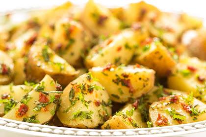 Lemon Rosemary Potato Salad