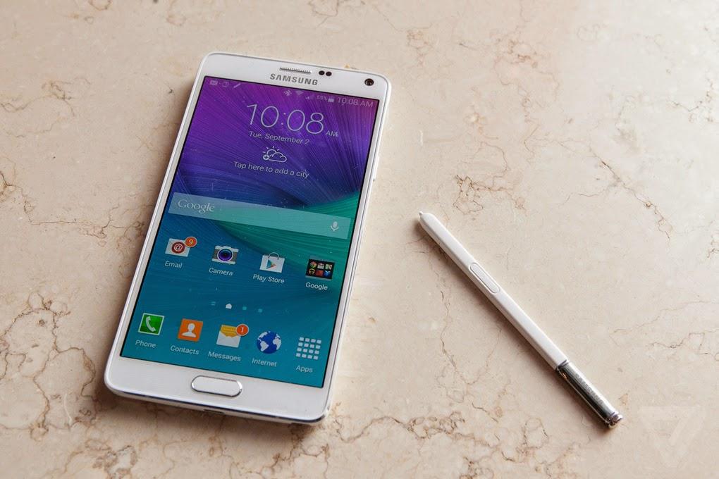 Configurazione manuale posta elettronica Samsung Galaxy Note 4 - 3 2 1 5 Edge