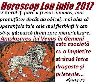 Horoscop iulie 2017 Leu