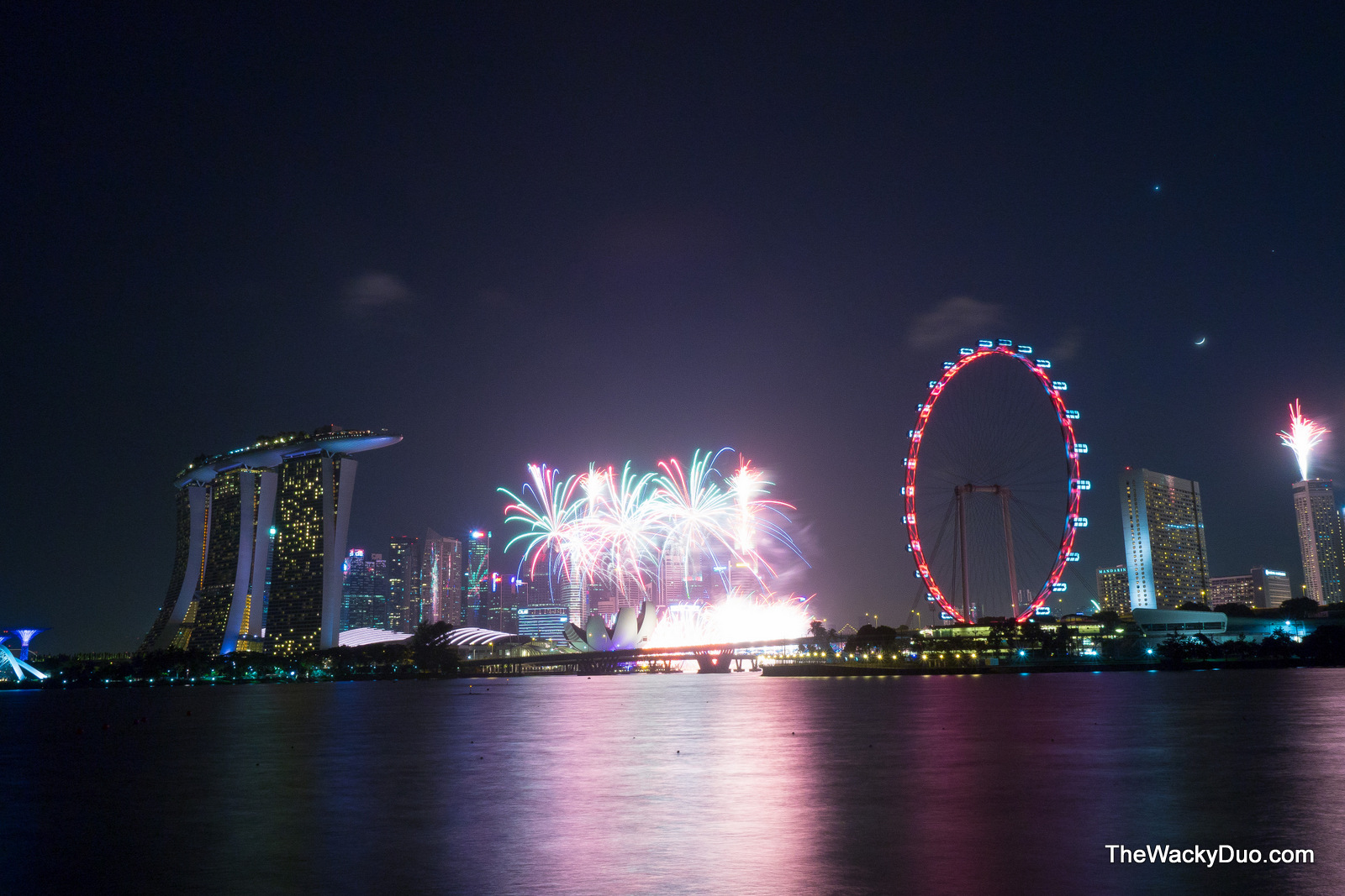 Delicieux Fireworks From Gardens By The Bay