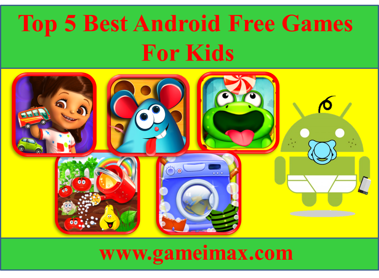 Top 5 Best Android Free Preschools And Fun Game For Kids